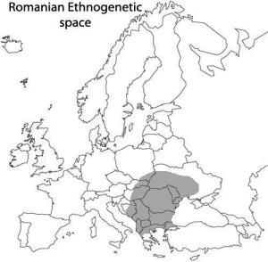 Spatiul etnogenetic roman